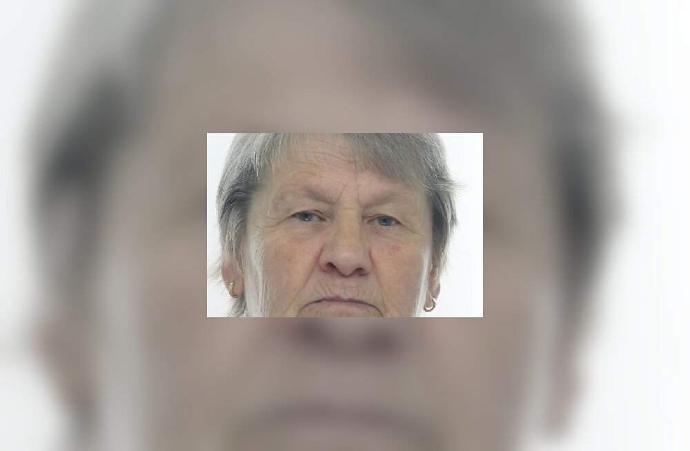 FOTO   Politsei otsib Jõgevamaal kadunuks jäänud 68-aastast Annet