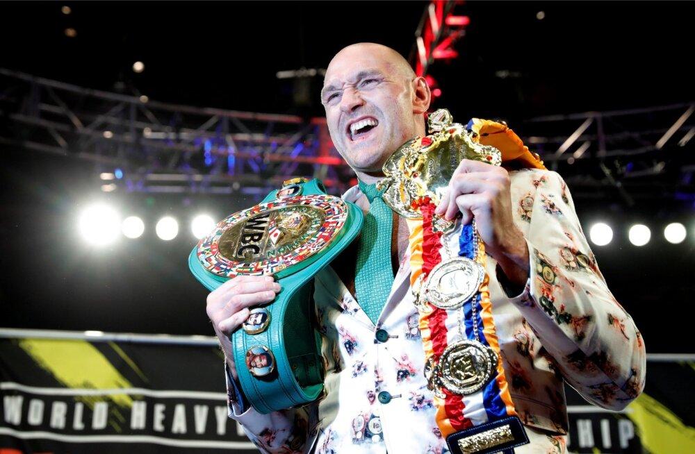 Tyson Fury valduses on WBC meistrivöö, kuid selle kaitsmise kõrval on vaja tõrjuda dopingusüüdistusi.