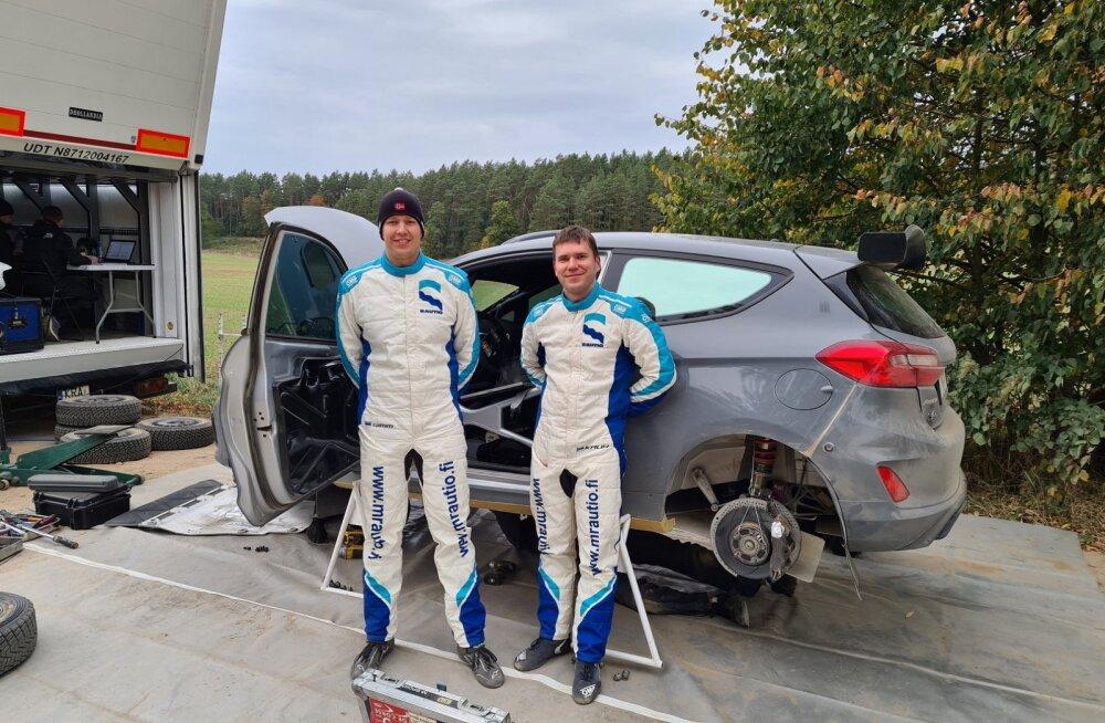FOTOD | Egon Kaur testis M-Spordi arendatud Rally3 autot
