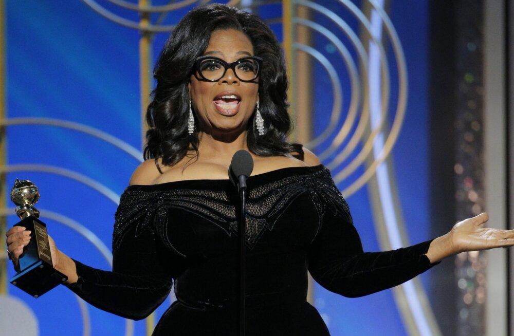 Oprah Winfrey kaalub väidetavalt võimalust kandideerida USA presidendiks
