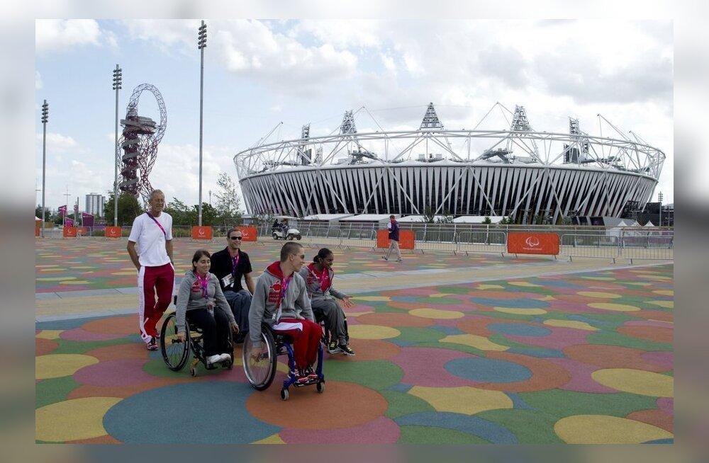 Paraolümplased Londoni olümpiapargis