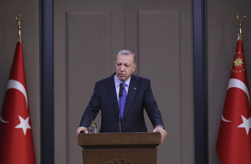 Türgi president Erdoğan ähvardas Islamiriigi vangid vabastada ja Euroopasse saata