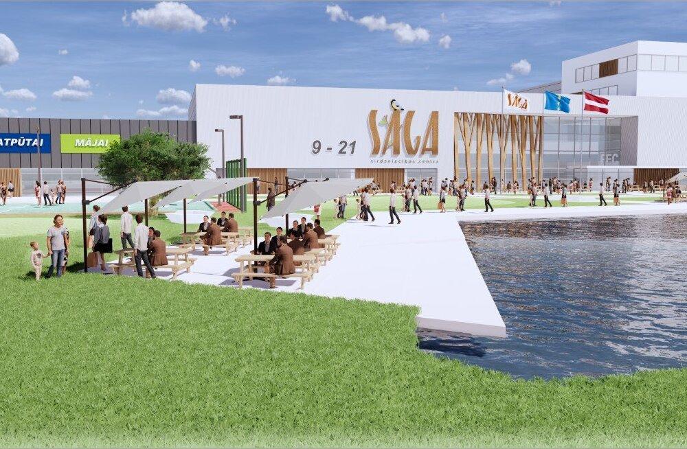 Eestlased ehitavad Riiga hiiglasliku nn rohelise kaubanduskeskuse