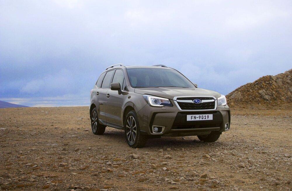 PROOVISÕIT: Uuema näoga Subaru Forester