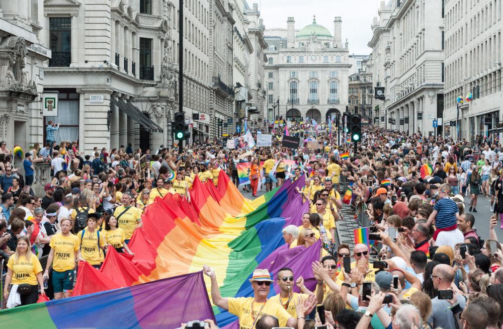 ФОТО: Около миллиона европейцев вышли на гей-прайды
