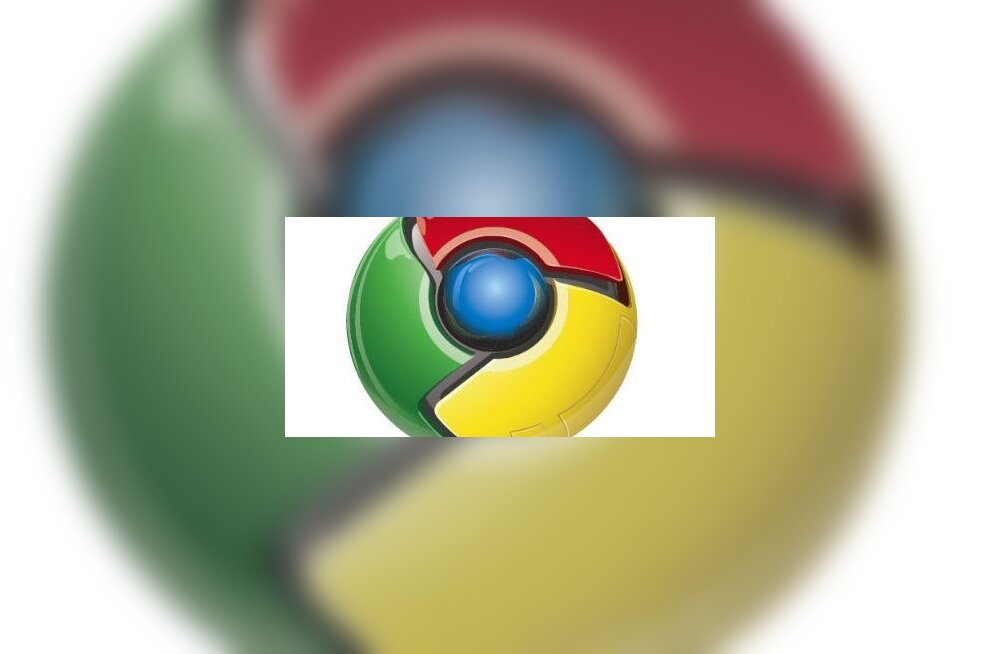 Chrome'i logo on nii ahvatlev... lööks kohe hambad sisse!