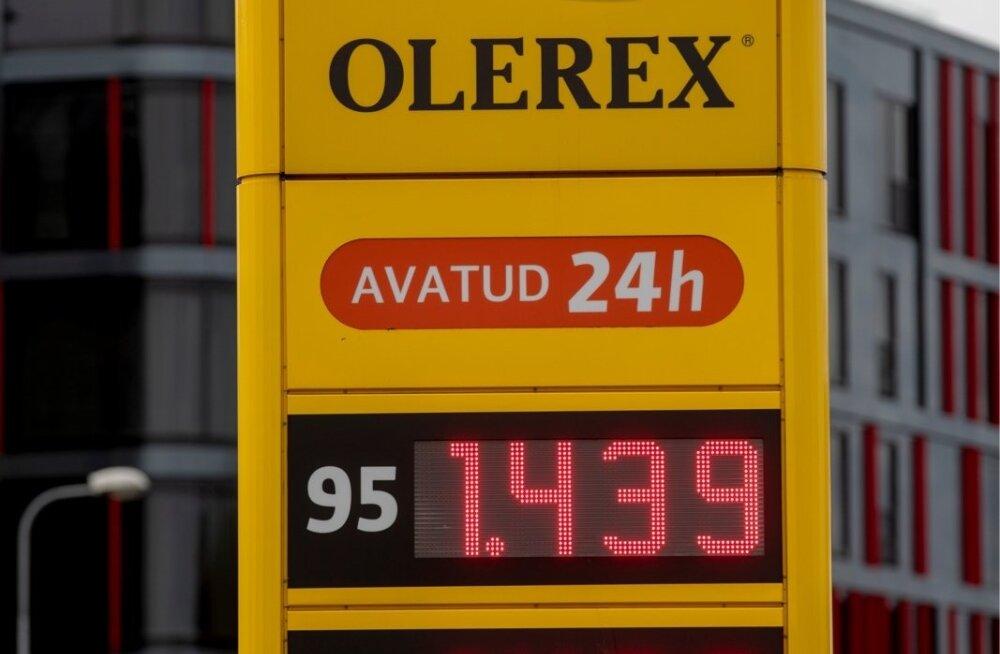 Kütuse hinnad kaks nädalat tagasi