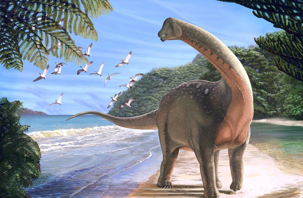 Lõputu vihmasadu tegi dinosaurustest Maa valitsejad
