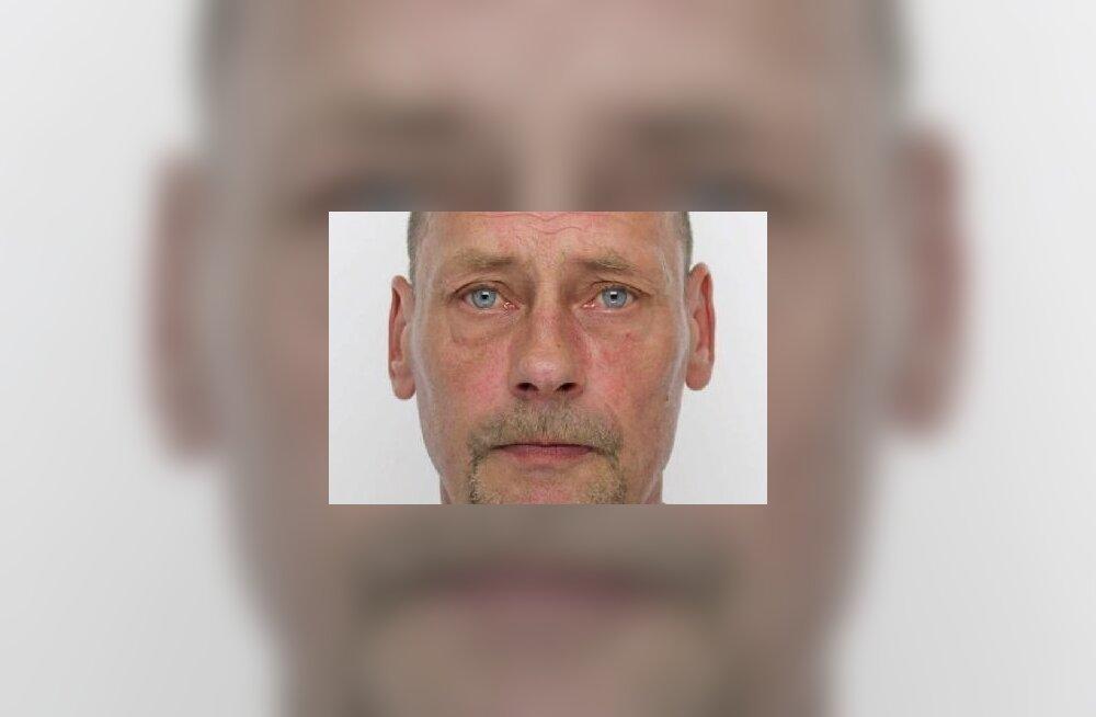 ФОТО: Полиция ищет пропавшего 52-летнего Гуннара