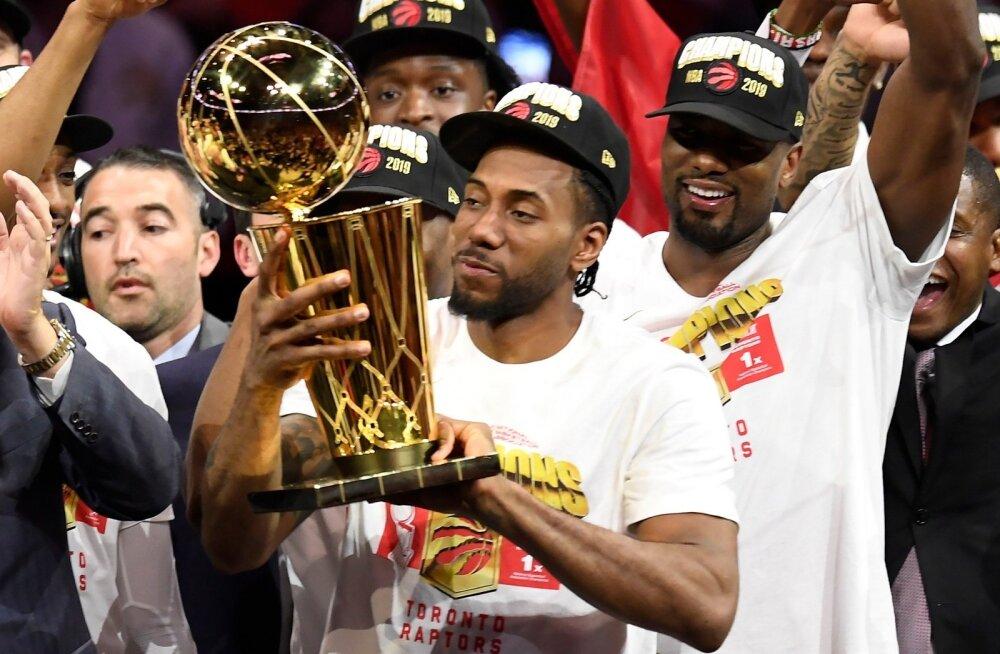 Kawhi Leonard on nüüdseks NBA meistrina saanud triumfeerida kahel korral.