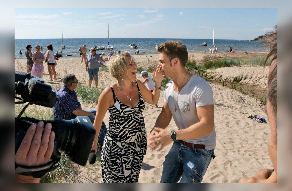 SUUR FOTOGALERII: Kolga-Aablas lasti laul lahti rannaliival