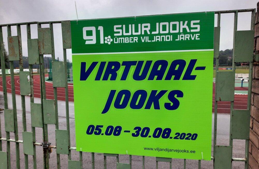 Ümber Viljandi järve virtuaaljooksu lõpetas 115 osalejat
