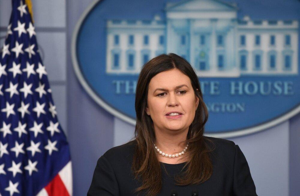 Valge Maja pressisekretär keeldus ütlemast, et press ei ole rahvavaenlane