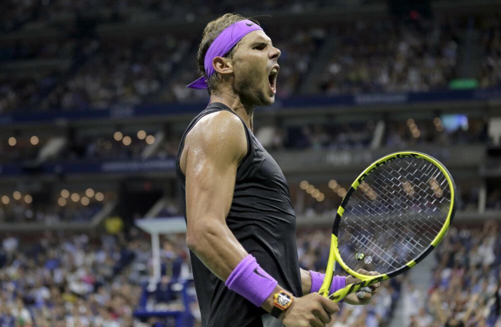 VIDEO | Nadali täiesti pöörane äralöök pani US Openi publiku rõkkama