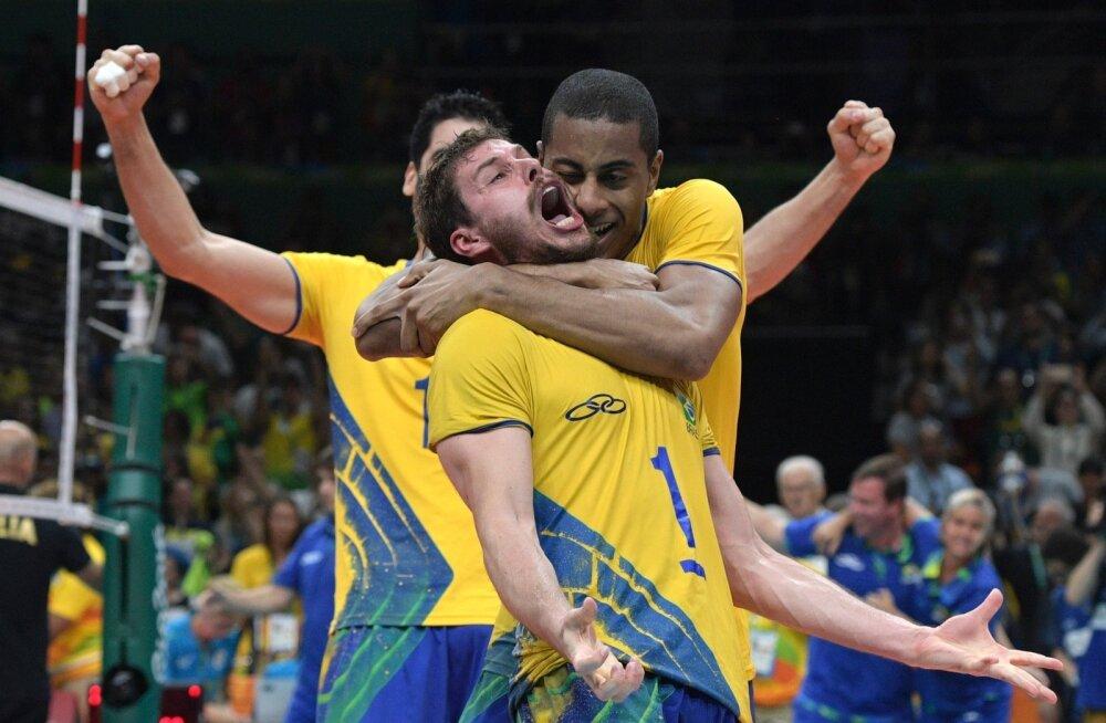 Brasiillaste võidurõõm