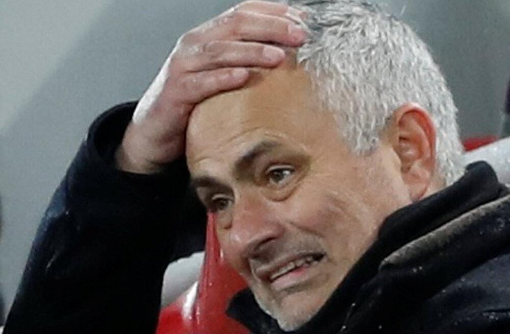 Jose Mourinho mattis pärast kaotust Liverpoolile tiitlilootused maha