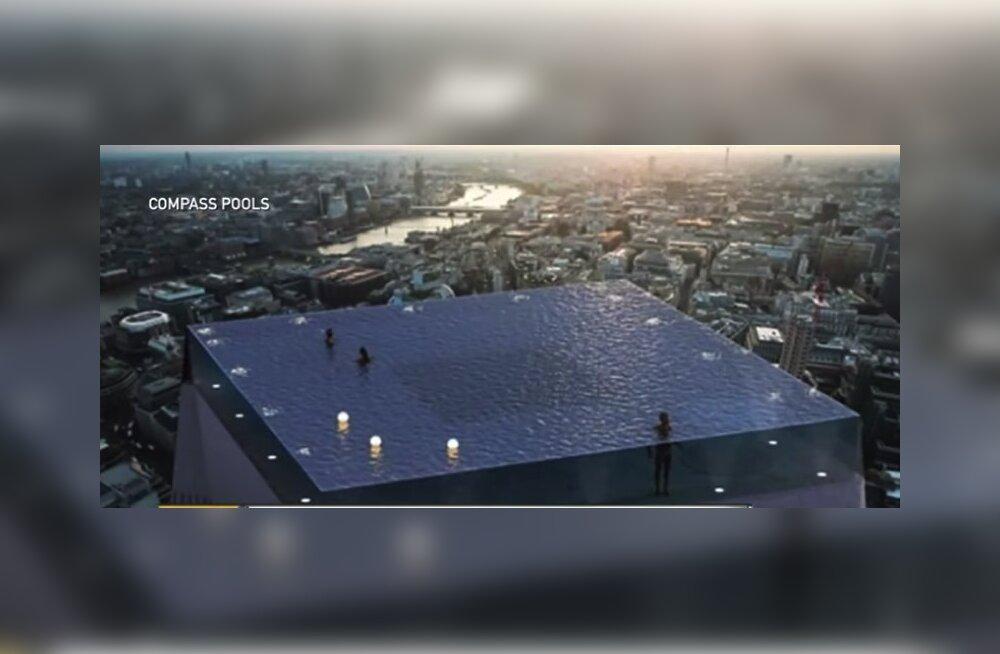 Загадка: В Лондоне построят обзорный бассейн без лестниц. Как же туристы туда попадут?