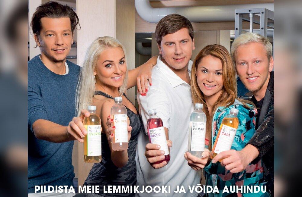 Vitamin Well loosib välja Stigi privaatkontserdi ja õhtusöögi Grete Kleiniga