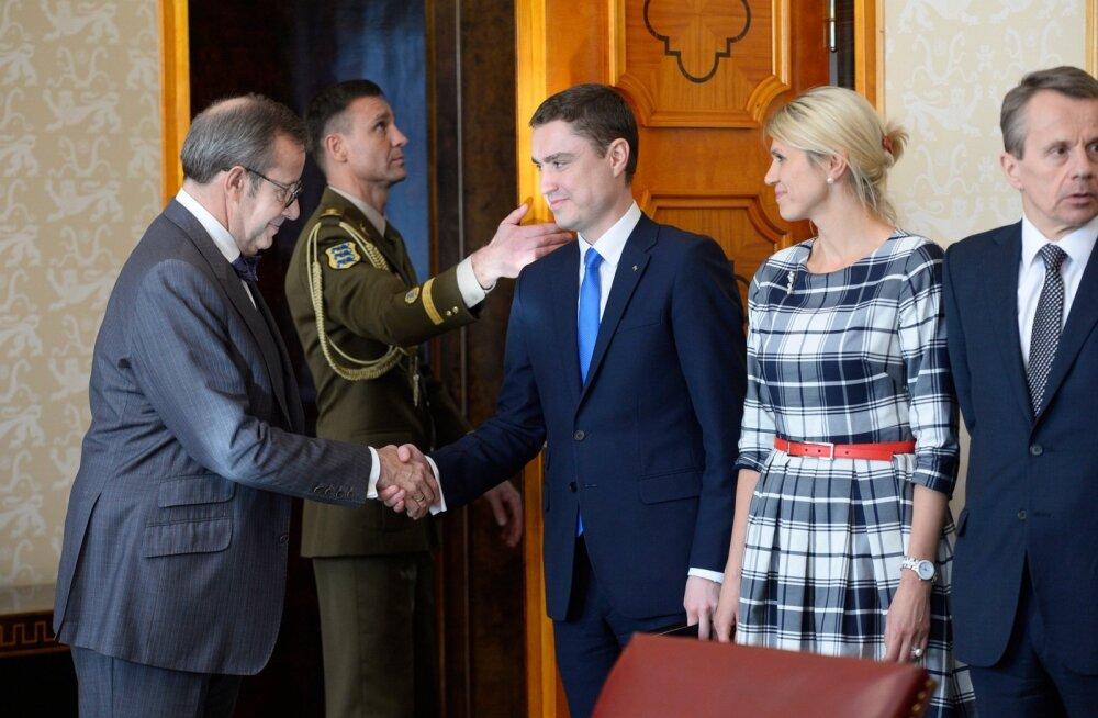 President Ilves uuele valitsusele: teil pole aega pikaks hoovõtuks