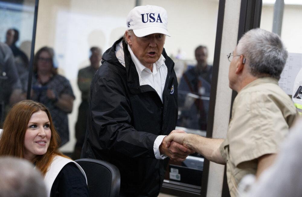 Orkaan Harvey: kuus miljardit riigikassast, üks miljon Trumpi tagataskust