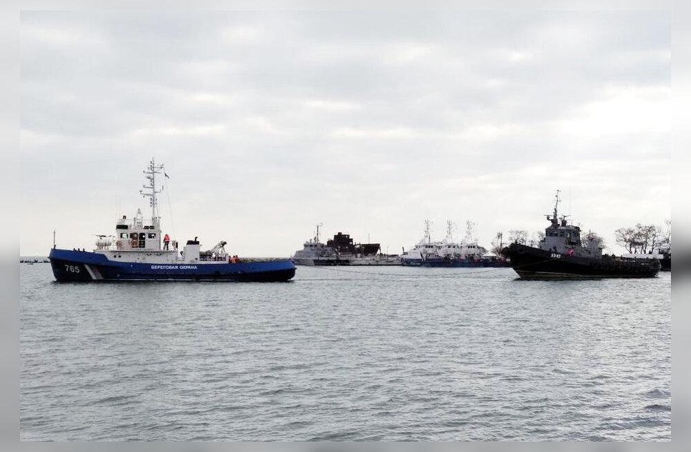 Venemaa andis Ukrainale üle eelmisel aastal hõivatud laevad