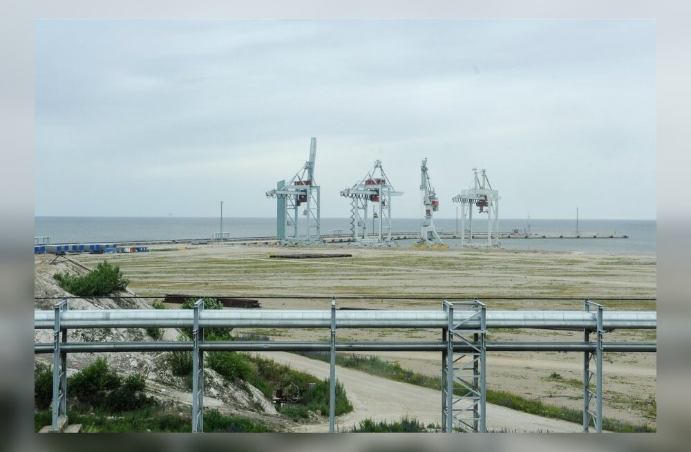 Sillamäe sadam, linnavaade, linna ja mere päevad