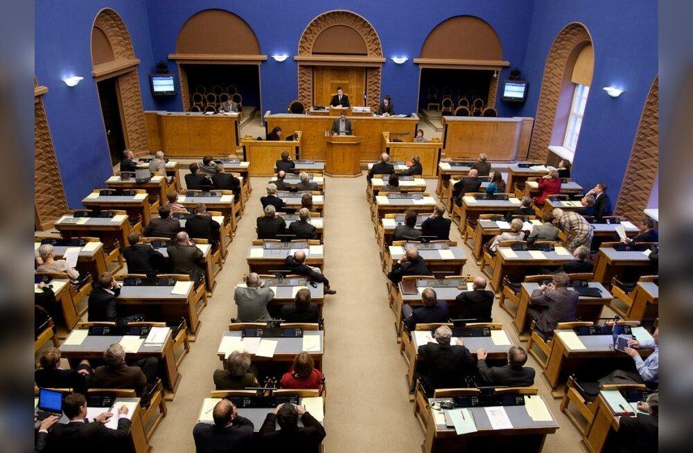 Kaheksakordset tavapensioni saab 128 riigikogulast