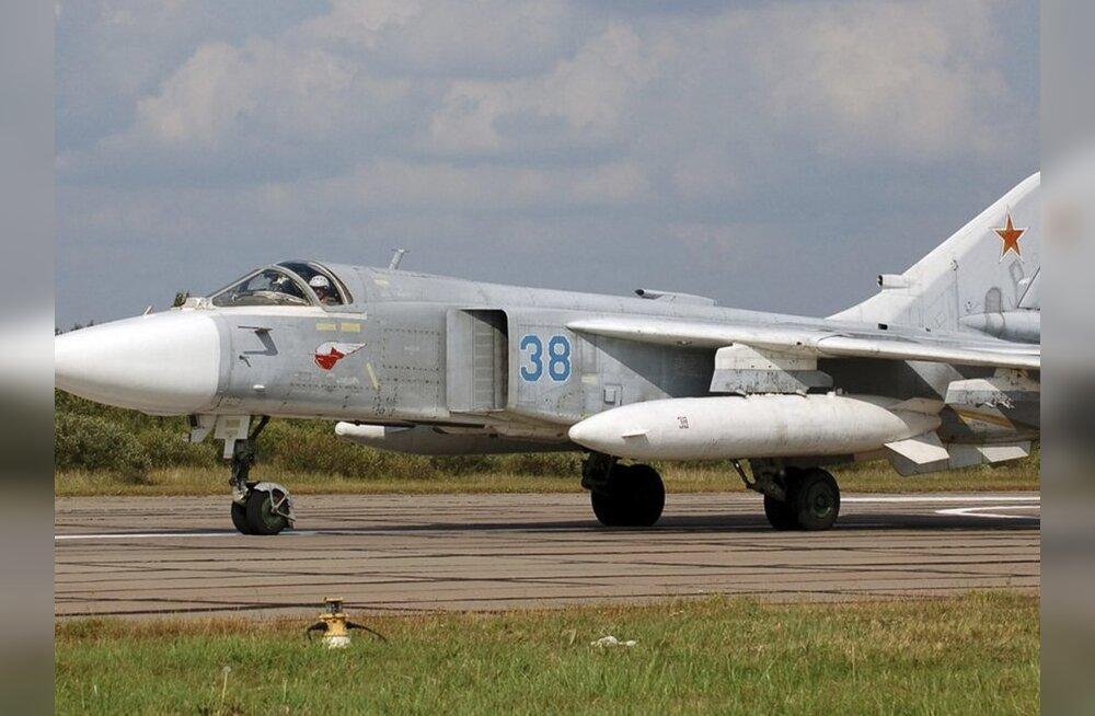 Vene pommitaja Su-24