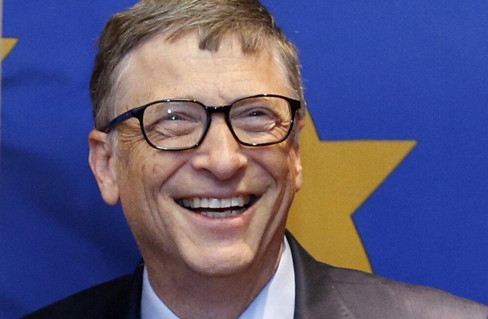 Kõige rikkamad inimesed meie planeedil: esinumber on endiselt Bill Gates