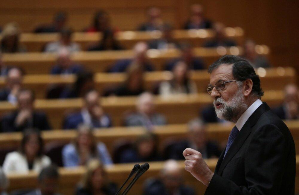 Hispaania peaminister küsis senatilt erivolitusi Kataloonias