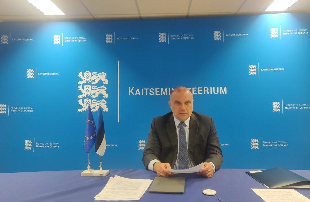Jüri Luik EL-i kaitseministrite kohtumisel: Euroopa Liit andis jõulise tõuke Euroopa kaitsetööstuse arenguks