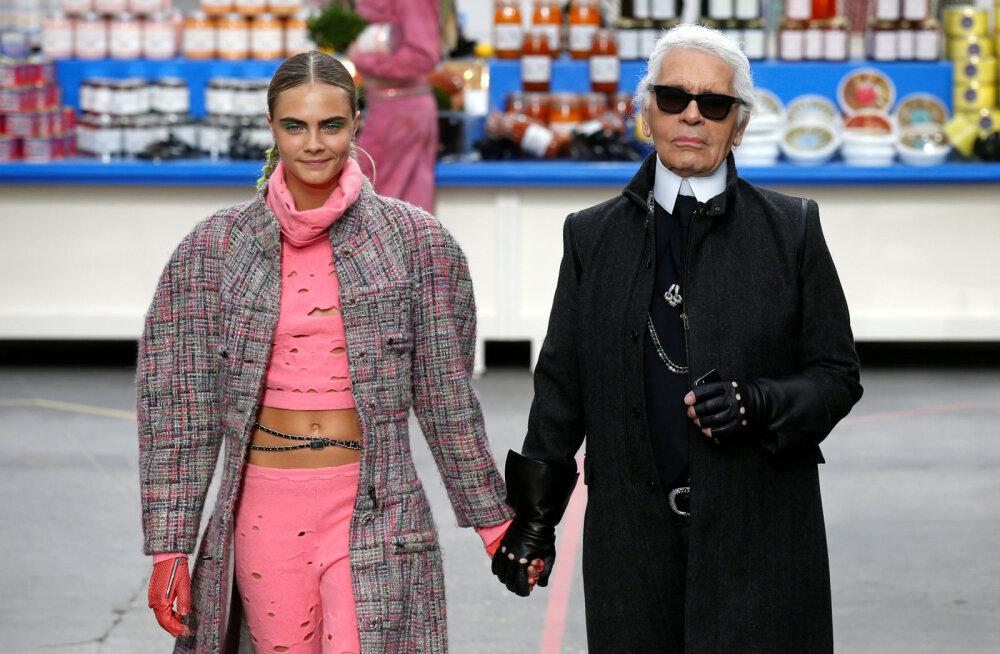 Kes olid lahkunud moekeisri Karl Lagerfeldi kõige ikoonilisemad muusad, kes inspireerisid ka tema loomingut?