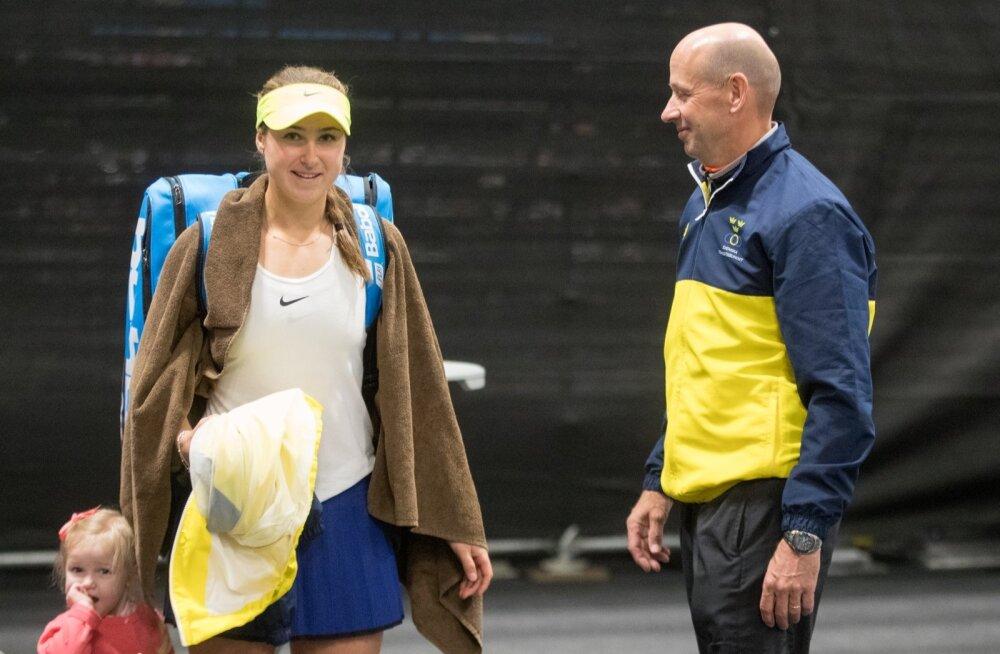 Tennise Fed Cup Tallinnas Rebecca Peterson