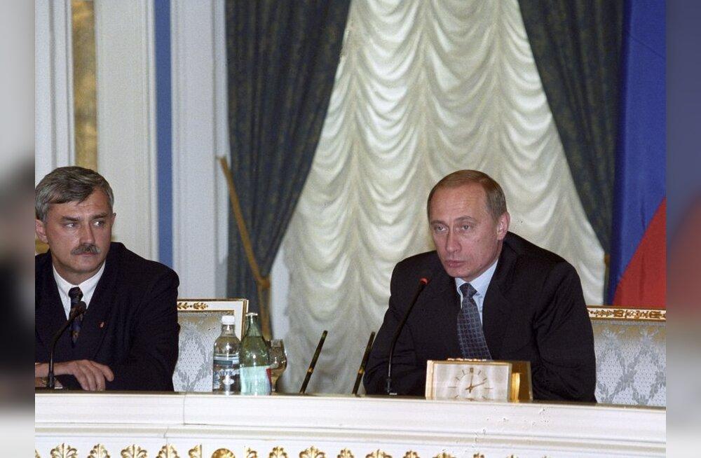 Poltavtšenko ja Putin