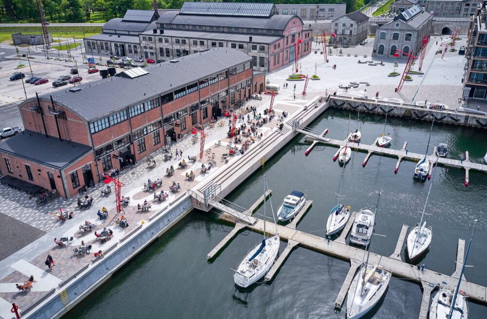 Tallinnas saavad nüüd ka väikelaevad kasutada m-parkimist