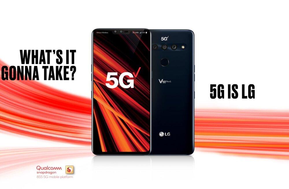 Mida LG plaanib? Aastaid kahjumis telefonitootja tõotab mobiiliäri tänavu plussi viia