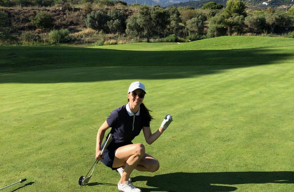 Eda-Ines Etti: Golfi puhul on tore, et reisidel on võimalik oma päevi veeta imeilusatel golfiväljakutel