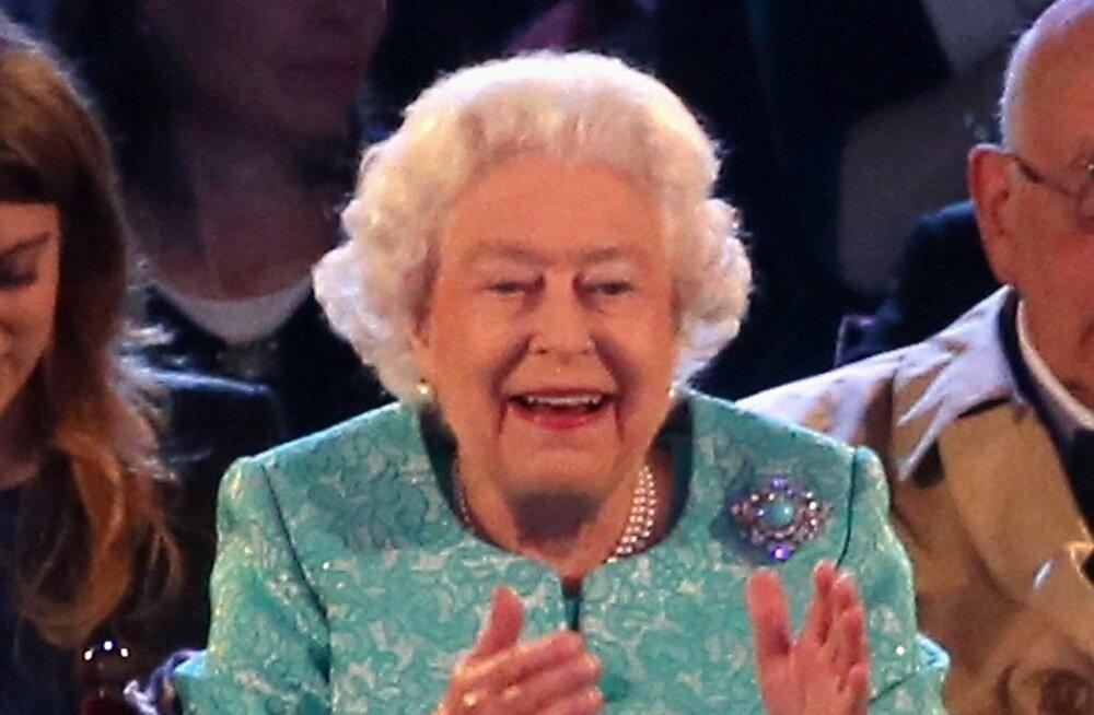 Kuninganna Elizabethi sünnipäev Windsoris