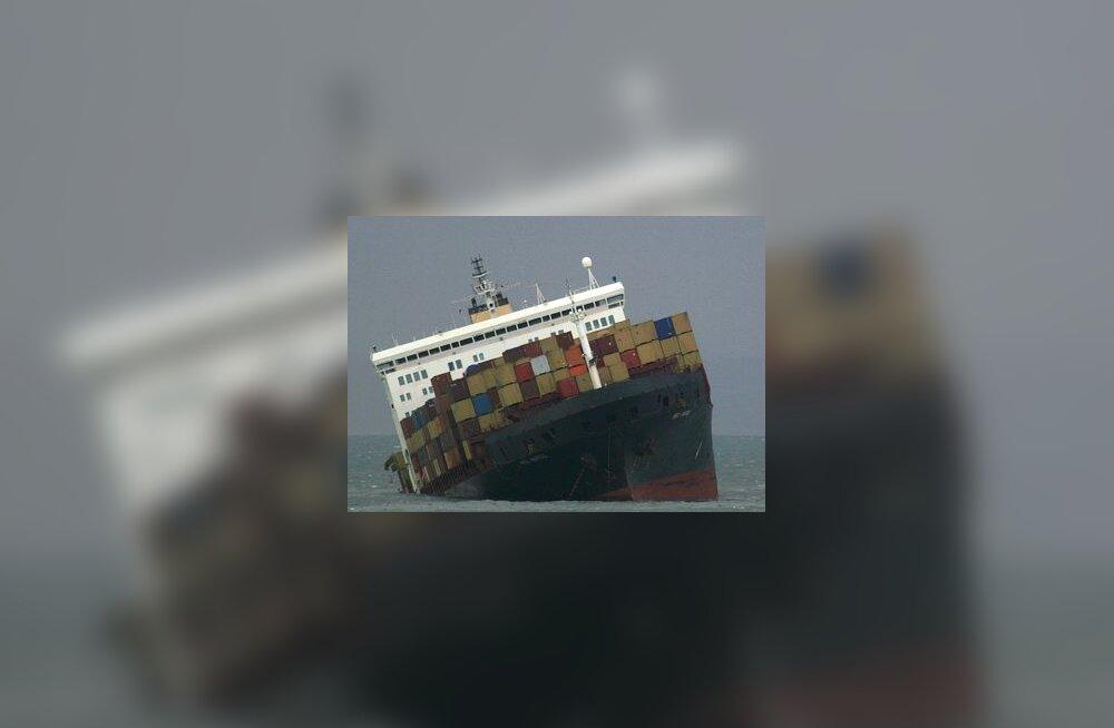 MSC Napoli, madalikule sõitnud kaubalaev