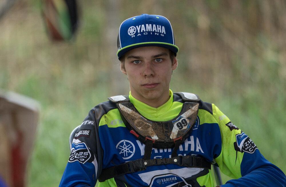 Suur võimalus: 15-aastane Eesti krossisõitja pääses Yamaha ametlikku meeskonda