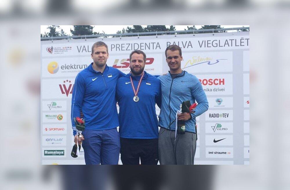 Eesti kergejõustikukoondis kaotas Balti matšil napilt Lätile