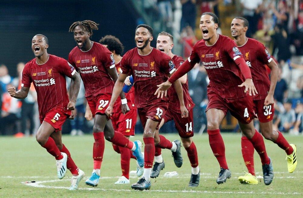 Liverpool võitis UEFA Superkarika.