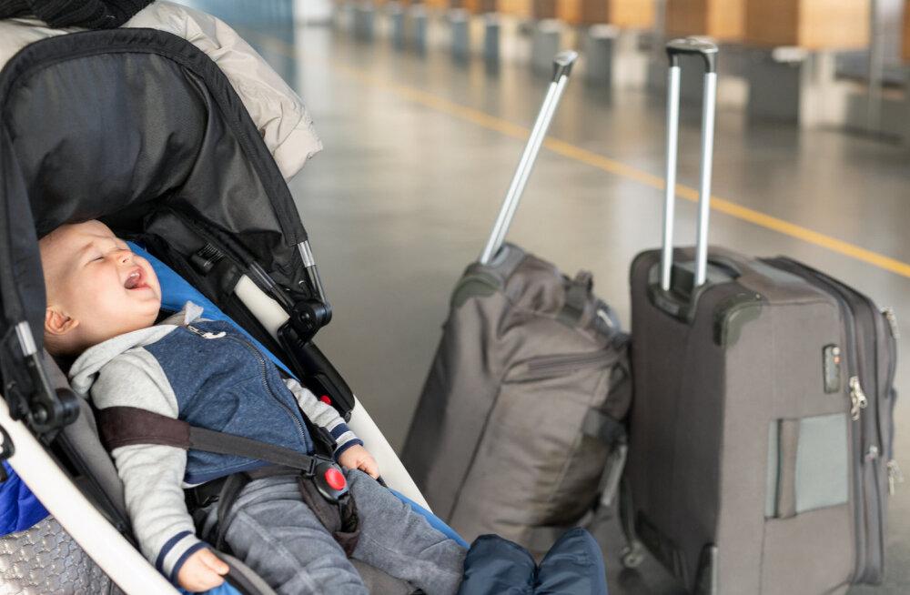 Eestlanna arvamus: lapsevanemad, tehke ühiskonnale teene ja ärge võtke oma tittesid lennukisse kaasa