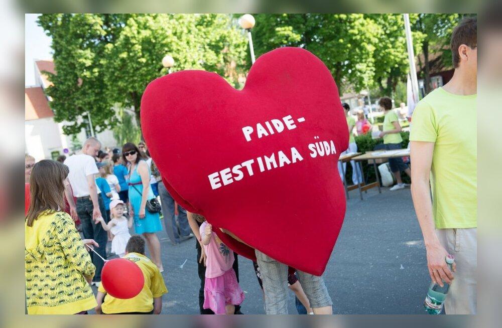Eestimaa südames on laps ja perekond üritus Paides