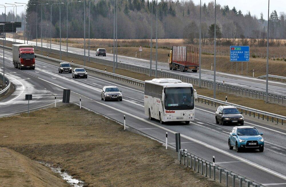 Eesti transpordimaksud on Euroopa madalaimate seas. Kas ja milliseid uusi makse tasuks meil kaaluda?