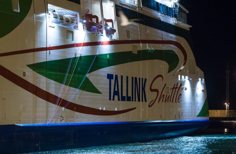 Tallink Megastari saabumine