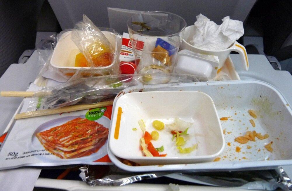 Testide tulemus: lennuki bakteririkkaim koht ei ole üldsegi mitte WC