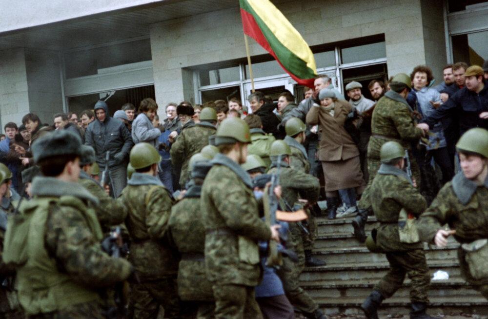 1991. aasta veresauna süüdlasi otsiv Leedu kohus nõuab Gorbatšovi tunnistajapinki