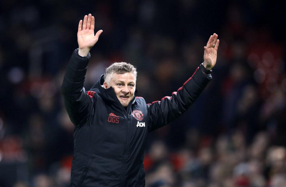 Manchester United sõlmis Solskjaeriga kolmeaastase lepingu