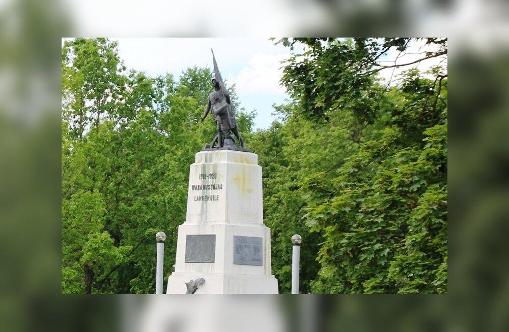 Rakveres tähistatakse homme 20 aasta möödumist Vabadussõja ausamba taasavamisest